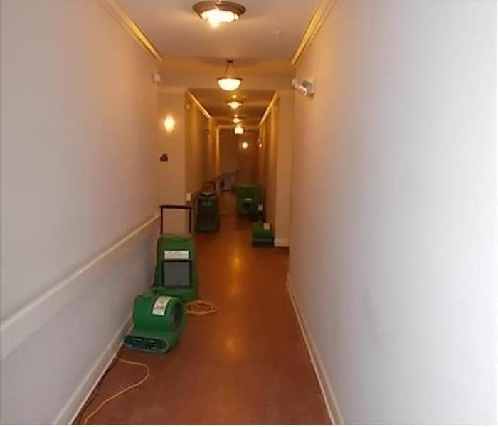 Apartment Water Damage in Matteson After