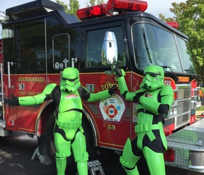 Storm Troopers and Fire Trucks