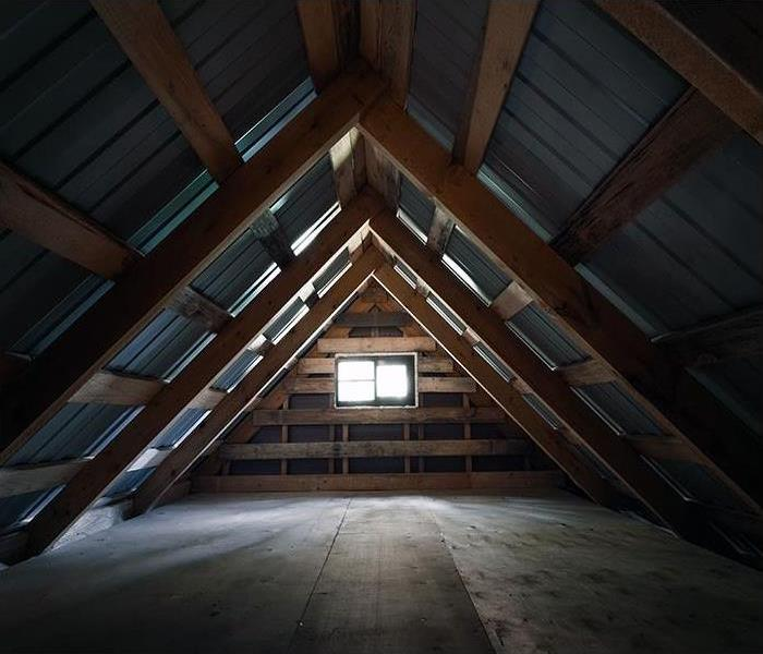 Water Damage Attic Water Damage In Country Club Hills