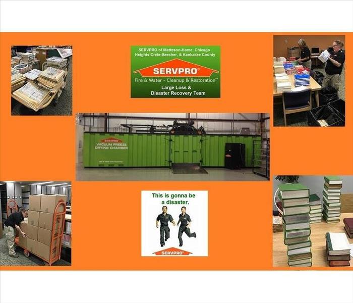 Why SERVPRO Document Preservation, Restoration, Conservation, and Recovery