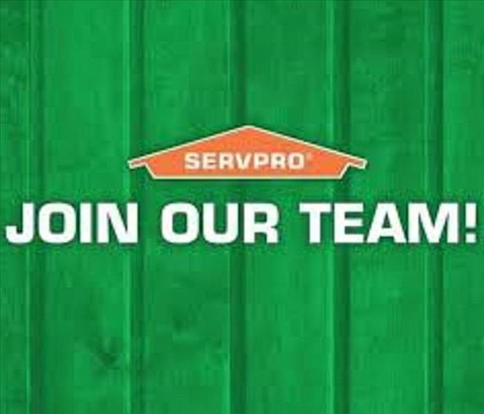 "SERVPRO house logo with the words ""join Our Team"""