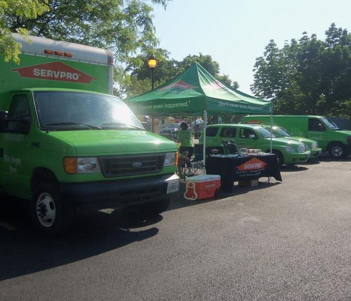 SERVPRO supports First Responders