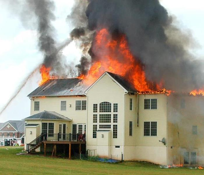 Fire Damage SERVPRO goes above and beyond with extra services after a fire.