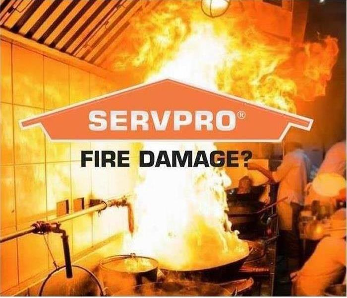 Fire Damage SERVPRO after fire services