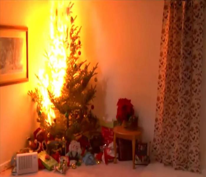 Fire Damage Holiday Fire Tips for Matteson