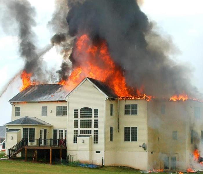 Fire Damage The ERP Plan from SERVPRO is a Valuable Tool Against Fire and Water Damage in Glenwood